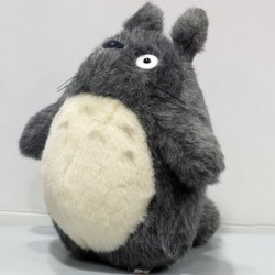 Totoro - Peluche de Totoro Gris Foncé - Taille M  -  TOTORO - GHIBLI