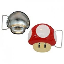 Super Mario Bros - boucle de ceinture Classic Mushroom  -  MARIO BROS & CO