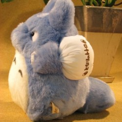 Totoro - Peluche de Totoro bleu - Taille M  -  TOTORO - GHIBLI