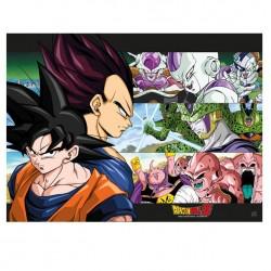 Dragon Ball Z - Poster Sangoku & Ennemis  - Goodies DBZ