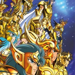 Saint Seiya - Poster des Chevaliers d'Or