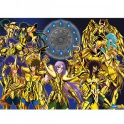 Saint Seiya - Poster des Chevaliers d'or - Grand Format  - Goodies